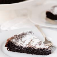 Gluten Free Dairy Free Chocolate Olive Oil Cake recipe