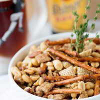 Toffee Nut Snack Mix