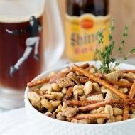 Toffee Nut Snack Mix recipe