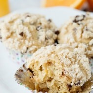 Whole Wheat Orange Chocolate Chip Muffins recipe