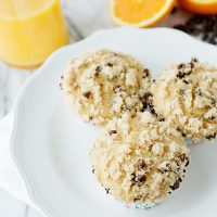 Whole Wheat Orange Chocolate Chip Muffins