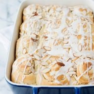 bread machine almond breakfast rolls recipe