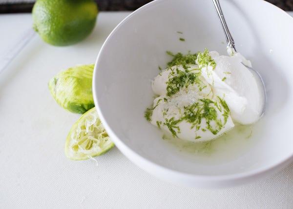 lime cream recipe