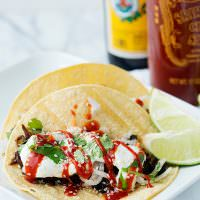 Slow Cooker Korean Tacos