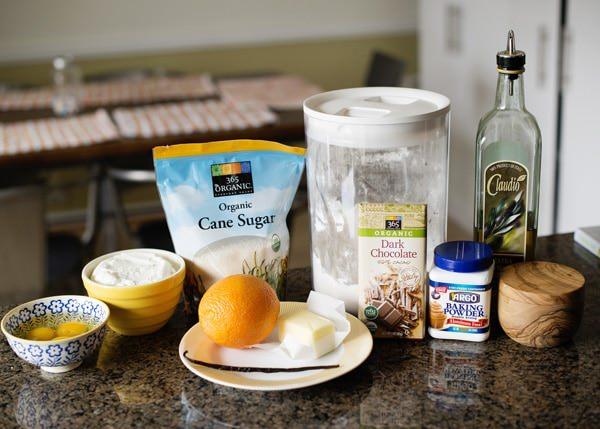 olive oil ricotta pound cake