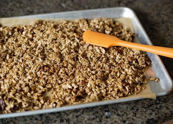 Blueberry Pecan Granola Recipe