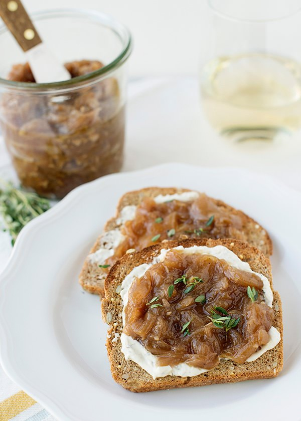 caramelized onion garlic jam recipe