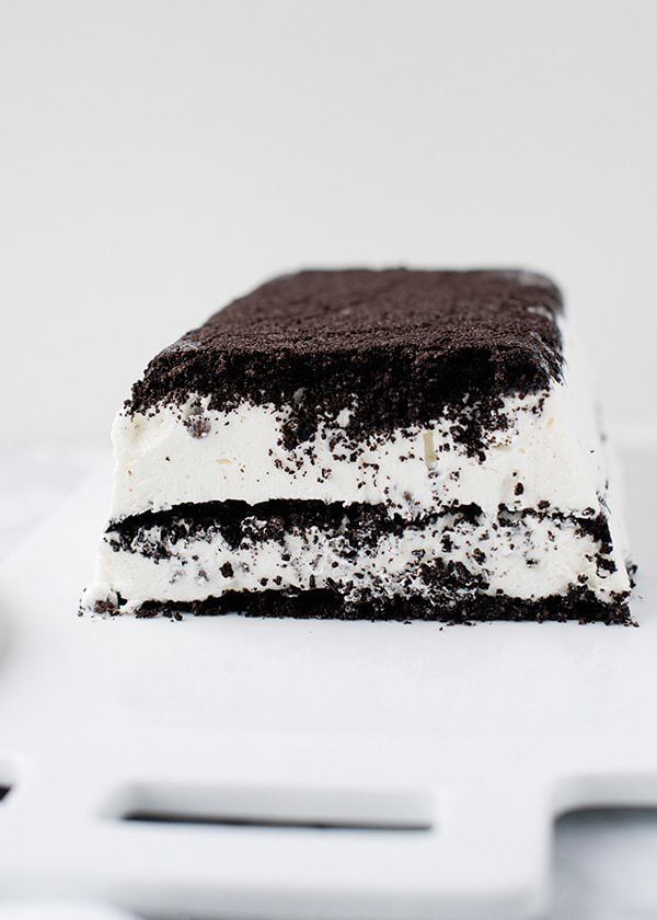 Cookies and Cream Icebox Cake recipe