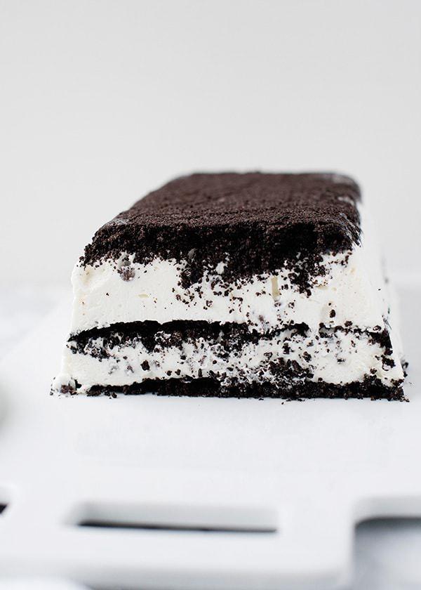 Cookies and Cream Icebox Cake recipe