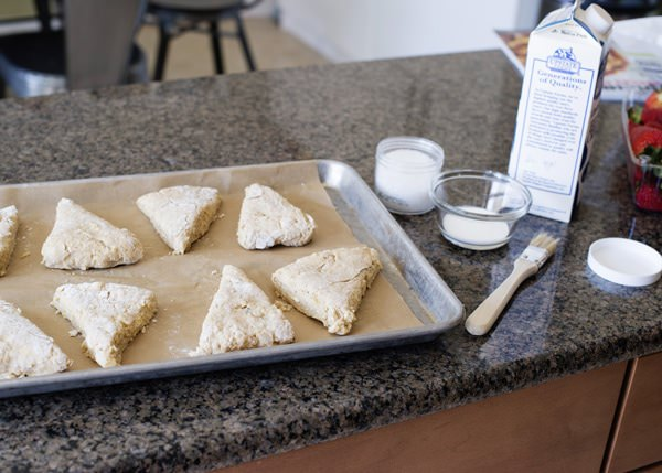 Lemon and Vanilla Bean Scones recipe