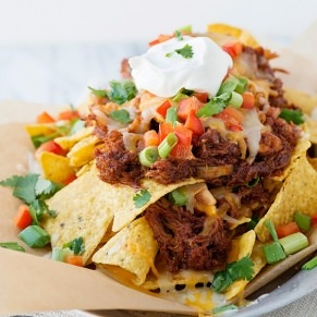 slow cooker bbq chicken nachos recipe