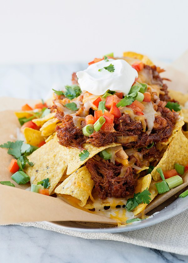 slow cooker bbq chicken nachos recipe