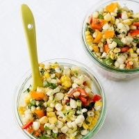 grilled corn salad with fresh herb recipe