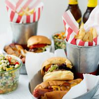 Texas Tommy Dogs and Cheeseburger Sliders