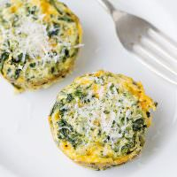 mini spinach frittata recipe