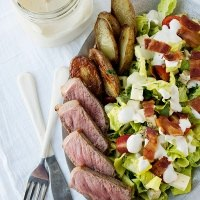 steak and roasted potato salad recipe