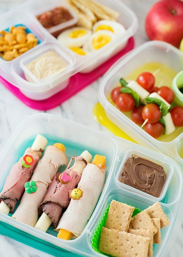 sandwich free lunch box ideas