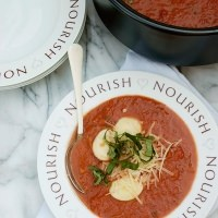 tomato basil soup with ravioli recipe