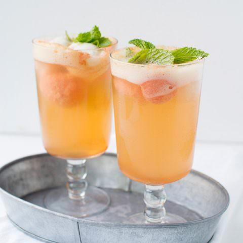 Prosecco Sorbet Cocktails
