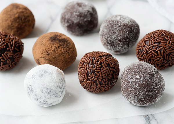 Click here to get the recipe for Chocolate Rum Balls.