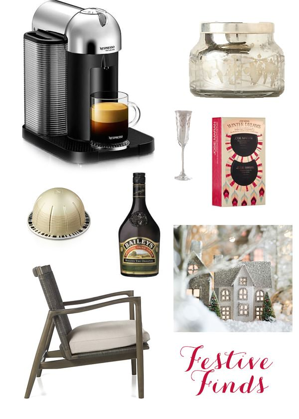 nespresso festive finds