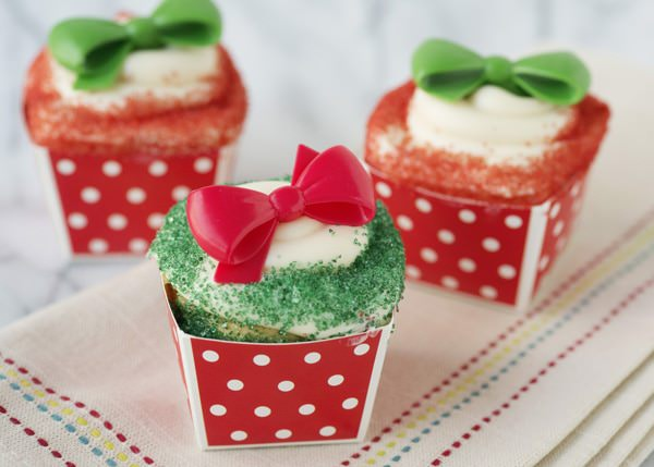 gift cupcake decorations