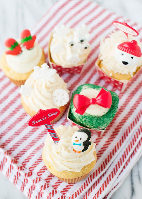 festive winter cupcake ideas