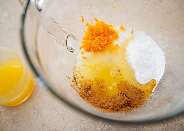 Orange Sunshine Coffee Cake