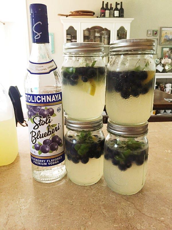 blueberry basil lemonade recipe