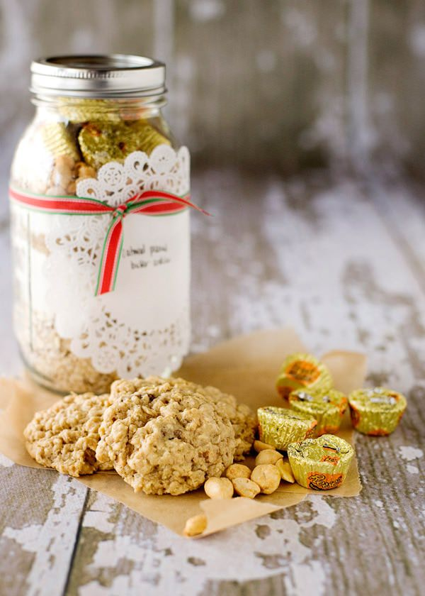 oatmeal peanut butter jar cookies recipe