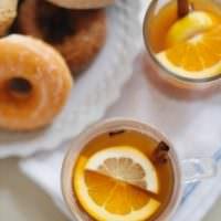 Spiced Apple Cider Cocktails