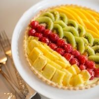 cat cora tropical fruit tart recipe