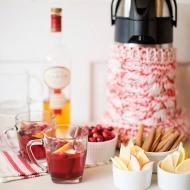 warm cranberry calvados cocktail
