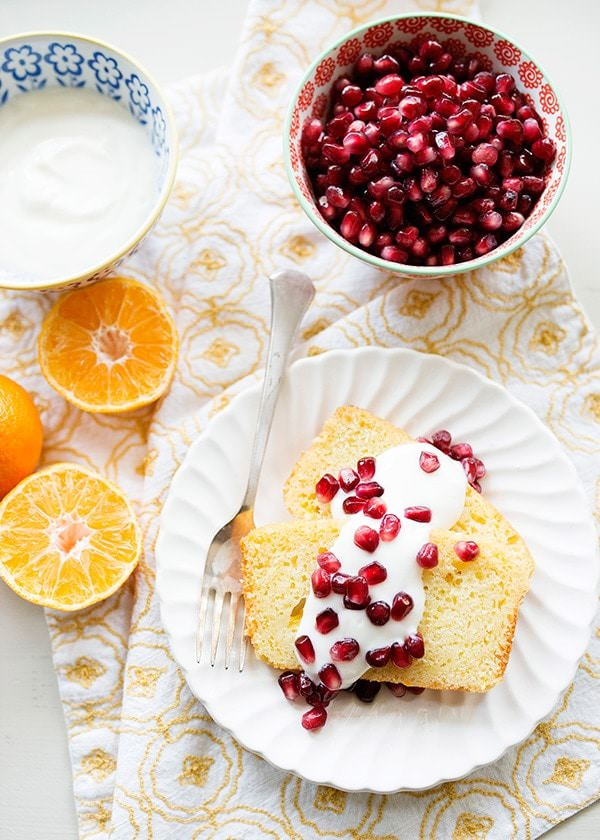Clementine Yogurt Olive Oil Cake