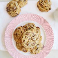 Soft Whole Wheat Caramel Chip Cookies