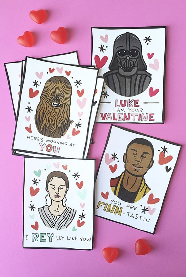 caravan shop star wars valentines