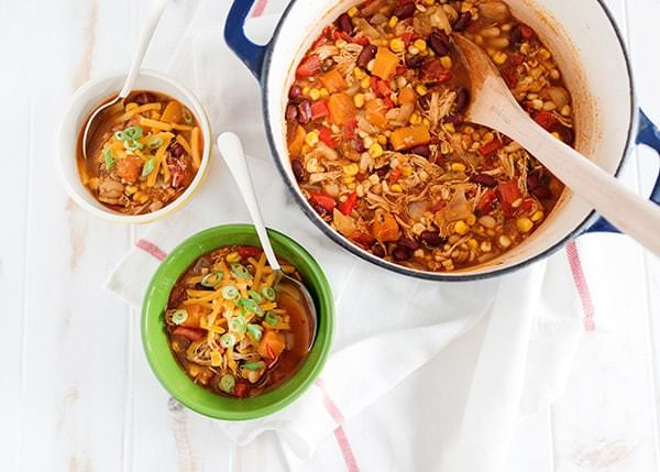 butternut squash and chicken chili