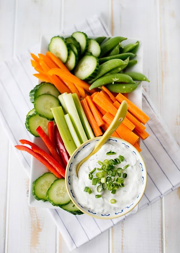 Summer Dips and Appetizers