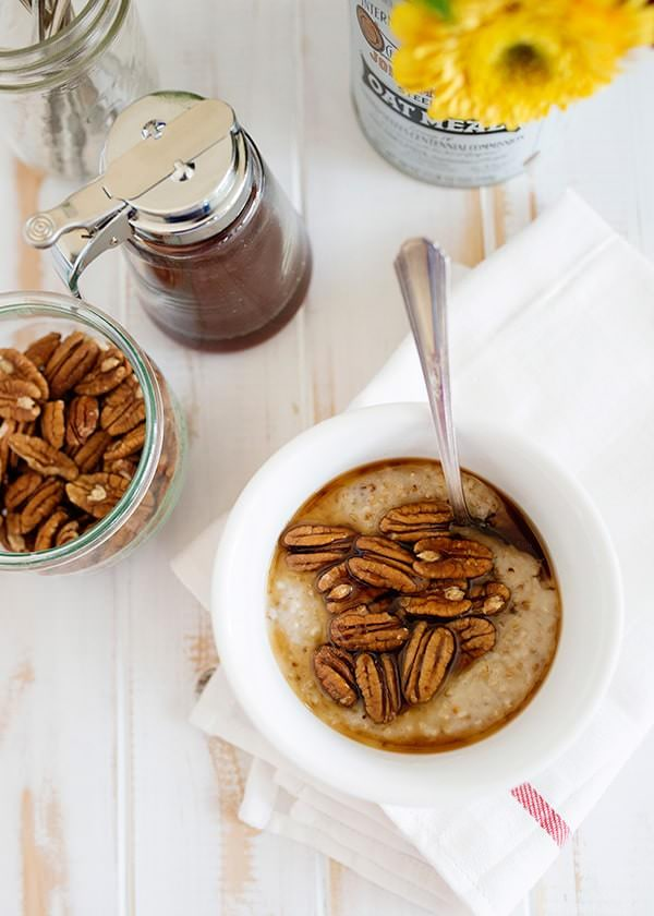 Maple & Pecan Steel Cut Oats