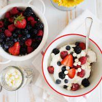 Berries & Cream Steel Cut Oats