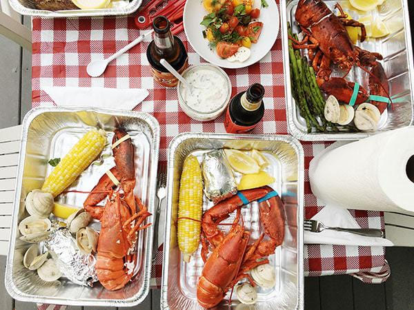 lobster bake at home