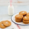 Honey Gingersnap Cookies