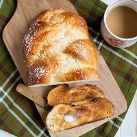 Braided Cardamom Bread (Finnish Pulla)