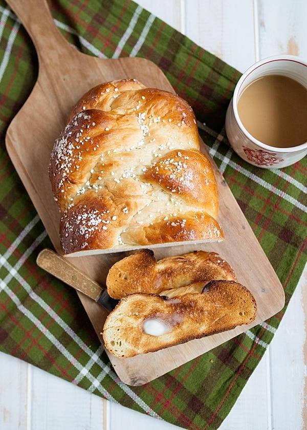Braided Cardamom Bread (Finnish Pulla)