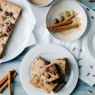 Spiced Chocolate Chip Cookie Bars