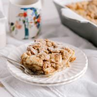 Streusel French Toast Casserole