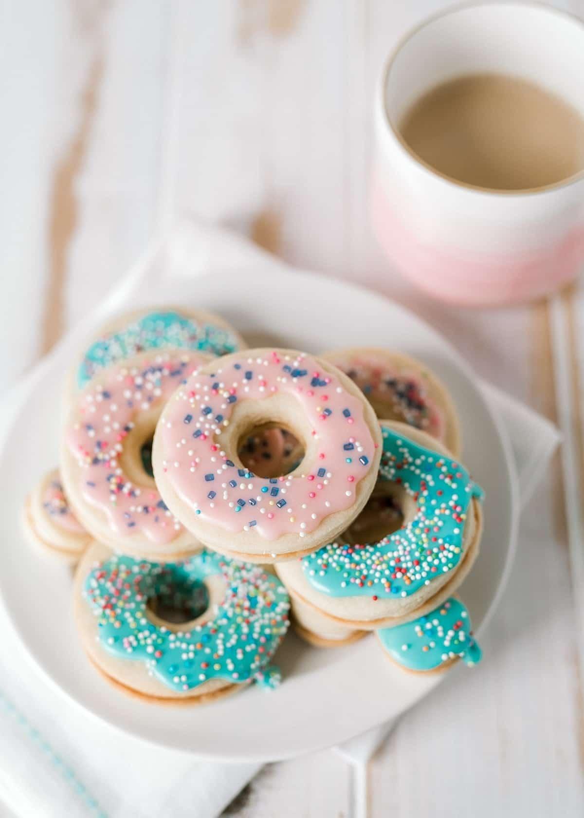 Doughnut Sandwich Cookies