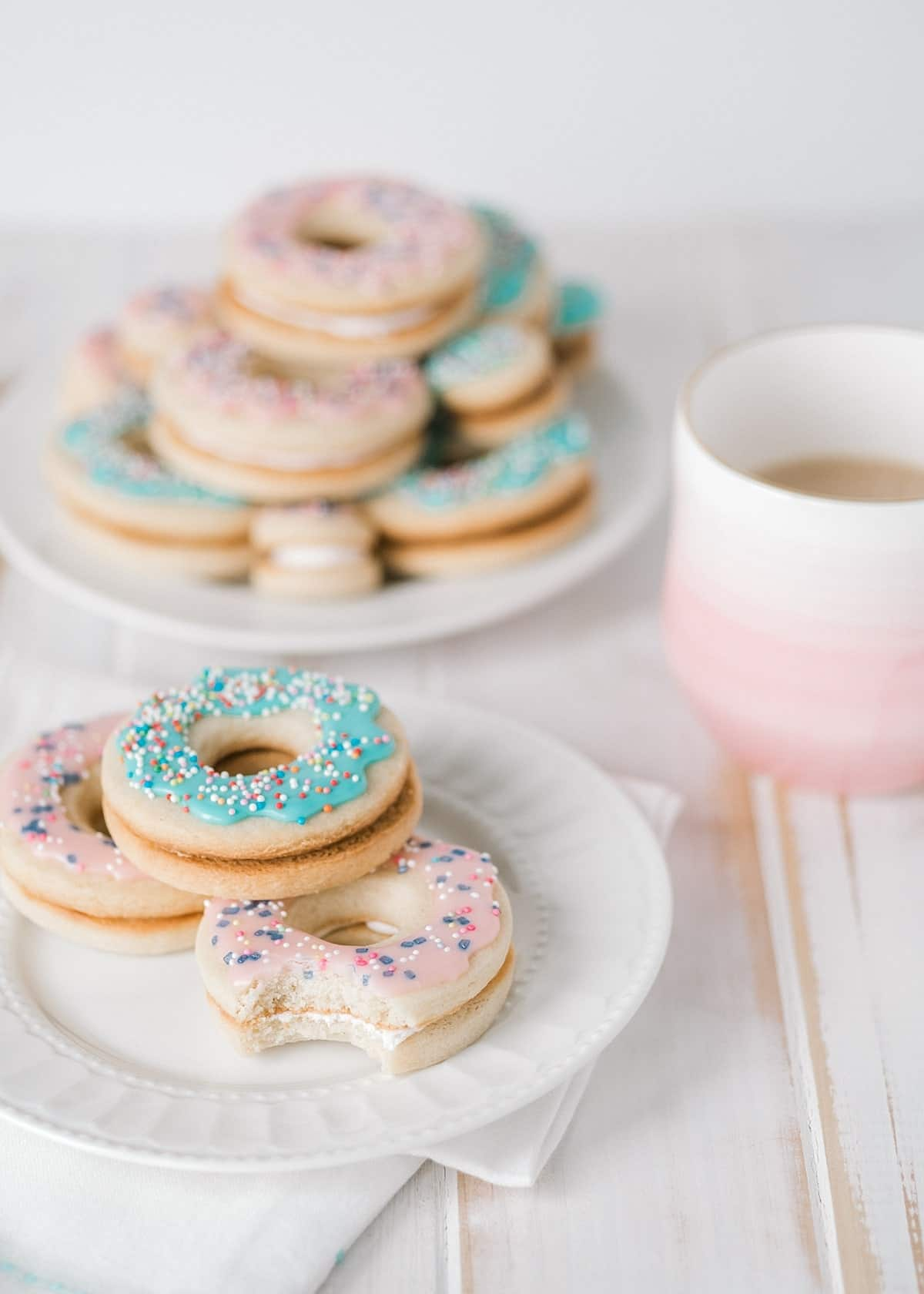 Doughnut Sandwich Cookies for a Good Cause - Cookies for Kids Cancer