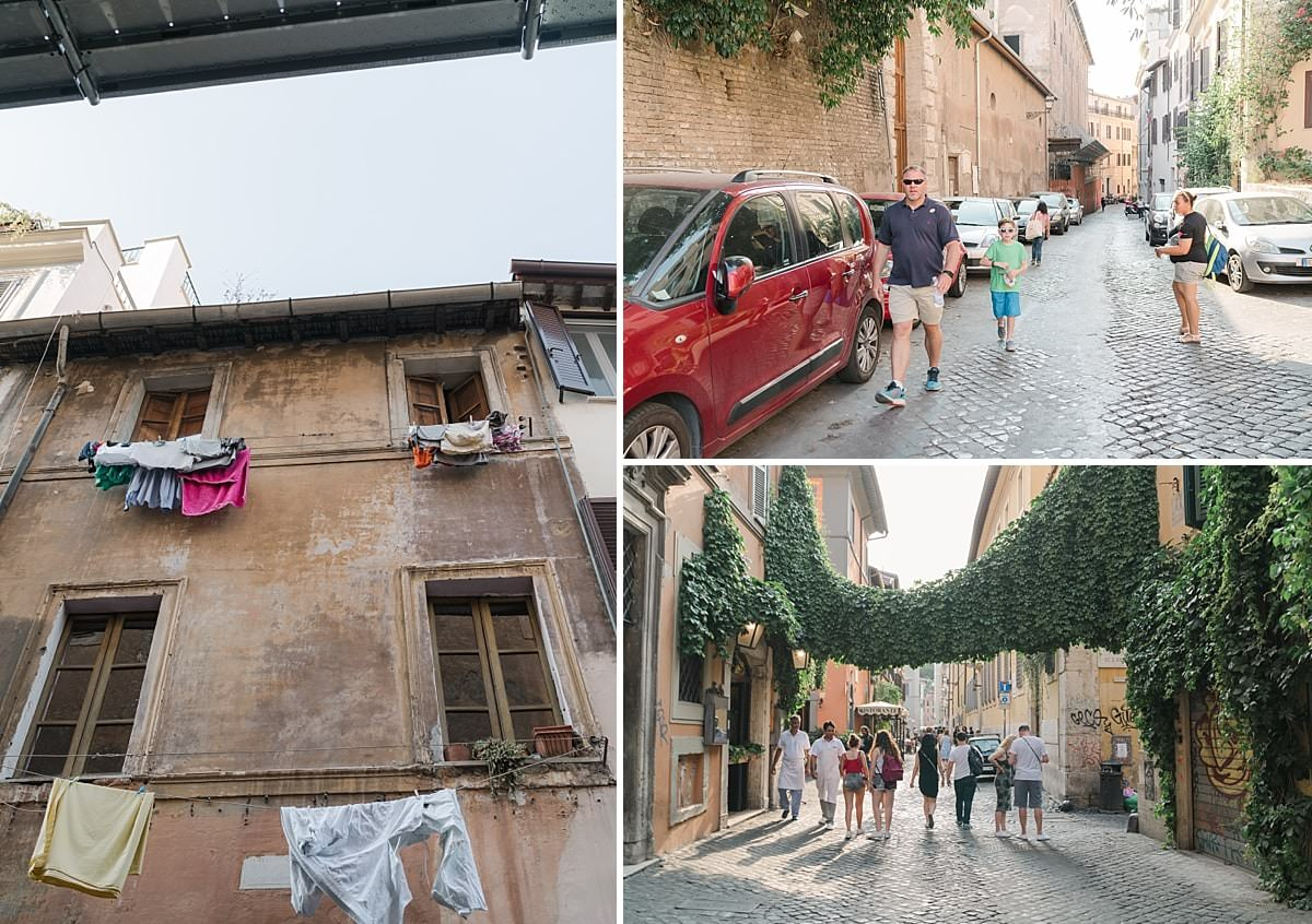 Travel with kids to Rome