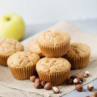 Apple Biscoff Hazelnut Muffins